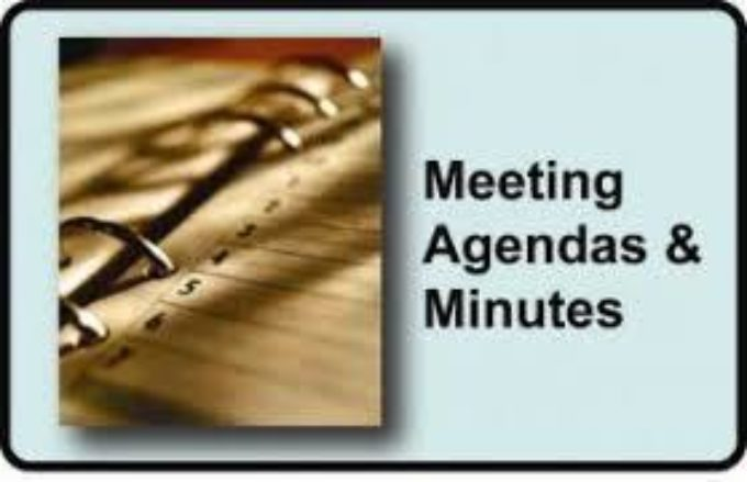 Agendas and minutes for board meetings
